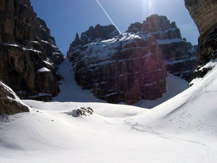Scialpinistica dolomiti del Brenta