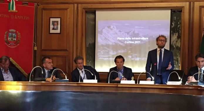Nominato un commissario ad acta e illustrati i piani del governo italiano per Cortina 2021
