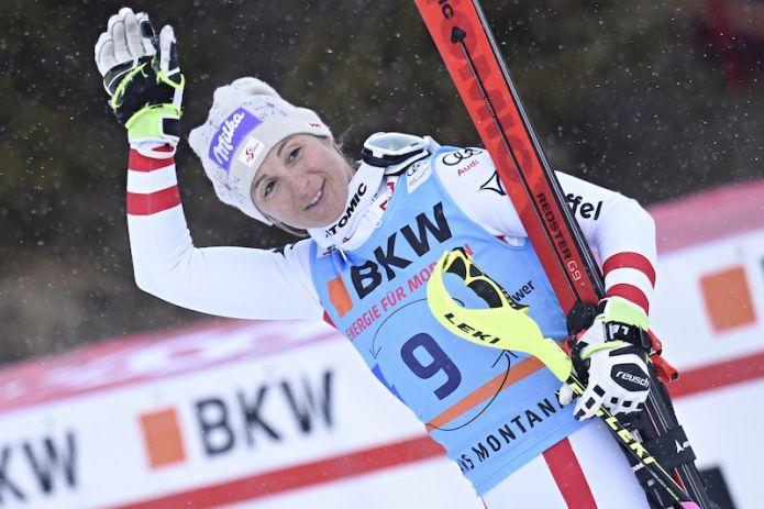 Sci Alpino, Levi: Vhlova infilza la Shiffrin