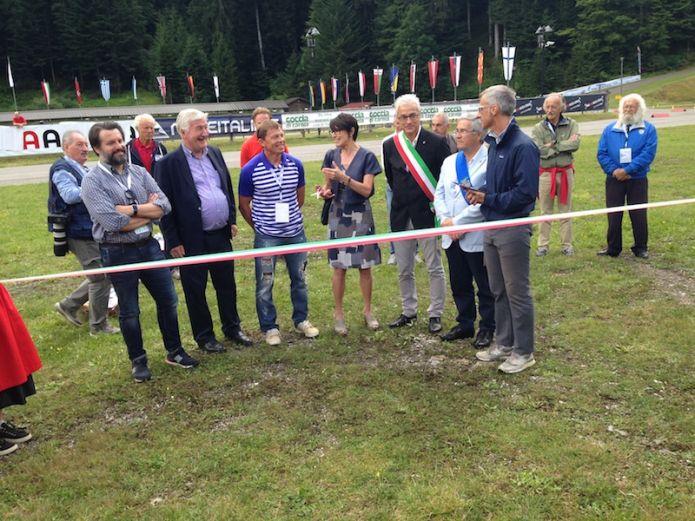 Inaugurata ufficialmente a Forni Avoltri la Carnia Arena