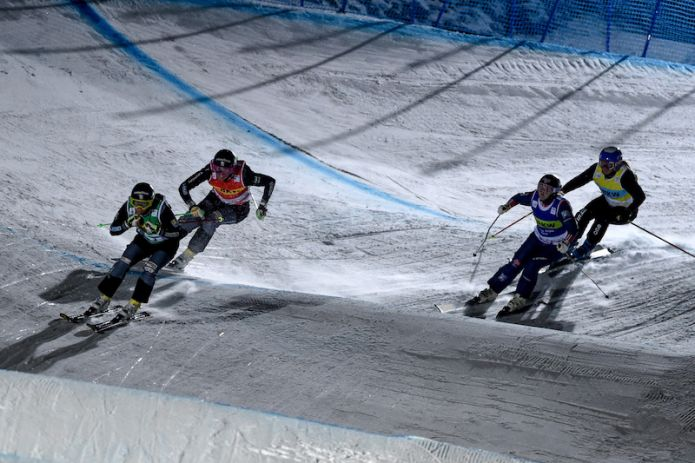 Sandra Näslund e Alex Fiva vincono gara-1 di ski cross di Idre Fjall