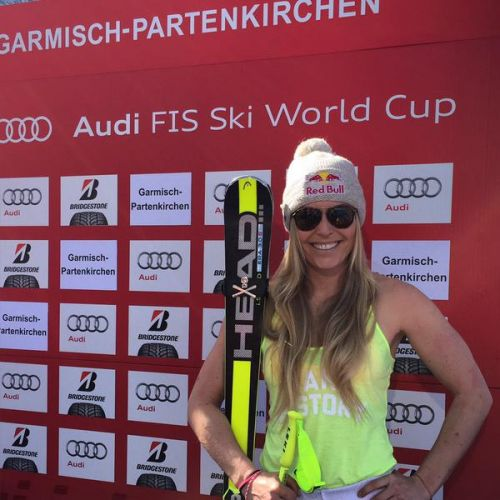 Nel superG di Garmisch-Partenkirchen Lindsey Vonn mette in fila Tina Maze e Anna Fenninger. 6a una grande Federica Brignone