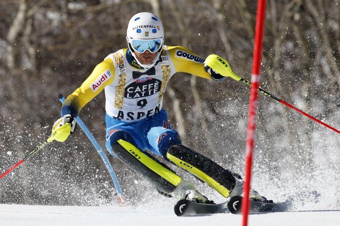 André Myhrer fa suo l'ultimo slalom