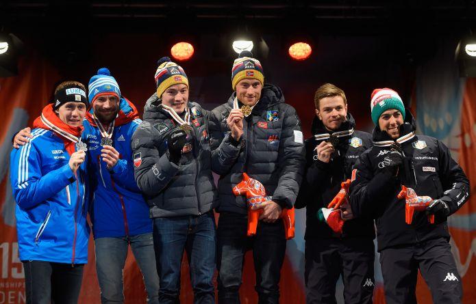 Mondiali Sci di Fondo, argento Italia nella staffetta sprint