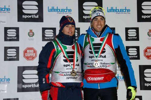 Pellegrino e Vuerich campioni italiani della Sprint a tecnica libera