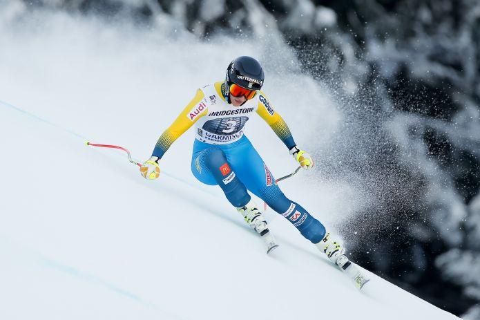 Lara Gut vince il superG di Garmisch
