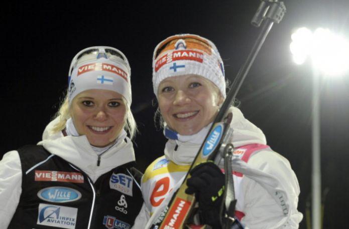 Mäkäräinen e Laukkanen solo 380° ! Ma erano in una gara di Orienteering .