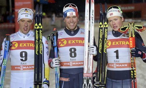 Sfida Norvegia-Svezia nella sprint maschile di Ruka: la spunta Golberg