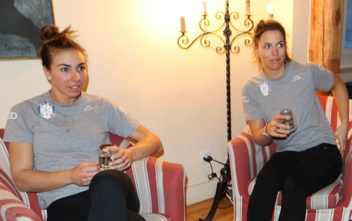 Elena Curtoni e Francesca Marsaglia saltano Sölden