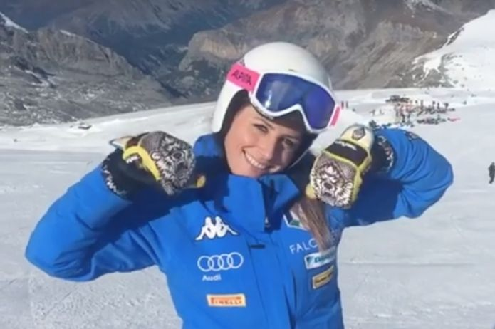 VIDEO - Nadia Fanchini è tornata sugli sci!