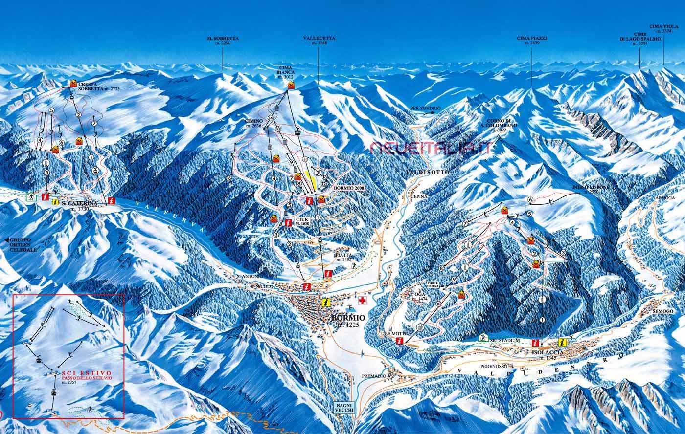 Località Sciistiche in Italia - Dove sciare in Italia