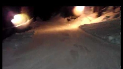 San Martino di Castrozza Italy 2013 Night skiing