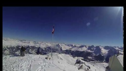 A Perfect Day @Arosa // Freeskiing, SnowPark and GoPro // FullHD