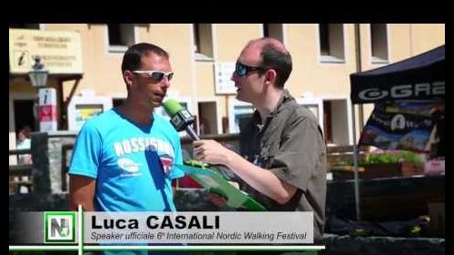 International Nordic Walking Festival a Cogne (AO) - Intervista a Luca Casali