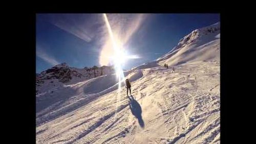 GoPro skiing in champorcher part-1