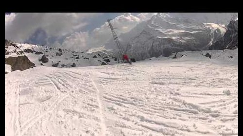 Dicking Around, Monte Moro, Macugnaga  24:03:2012 ski & snowboard