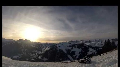 Gstaad - A snowboard edit