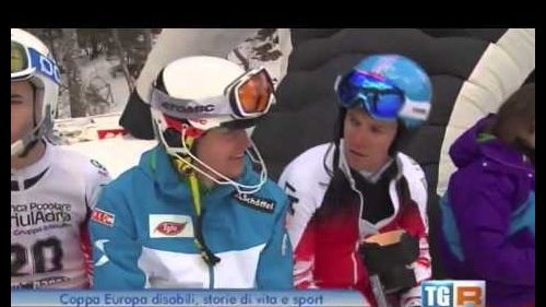 RAI3 TGR FVG (16.02.15): IPCAS Coppa Europa sci disabili Sella Nevea 2015