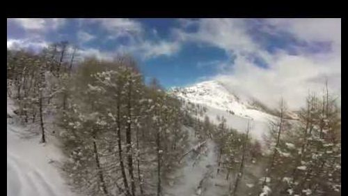|Gopro HD HERO| freestyle skiing in Chiesa in Valmalenco
