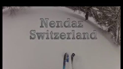 nendaz powder skiing 2016