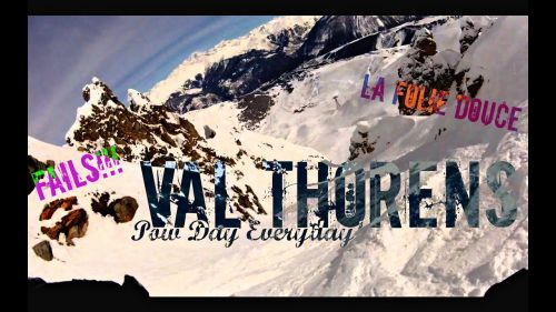 Skiing Val Thorens - La Folie Douce - Fails - GoPro HD