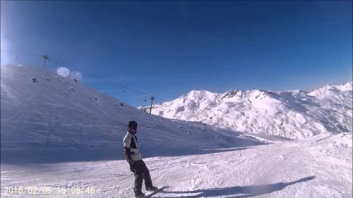 First snowboard trip ever @ val thorens (2016)