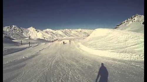 Ski Jumps in Val Thorens