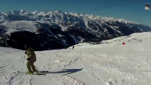 Vive La Vie Francaise! - La Route a Courchevel