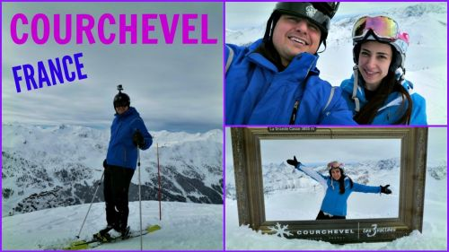Skiing, Snowboarding in Courchevel France