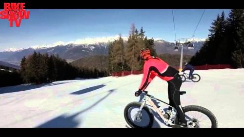 Fat Bike all'Aprica con Bramati e Gioia.