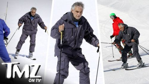 Is There Anything Andrea Bocelli Can?t Do? (TMZ TV)