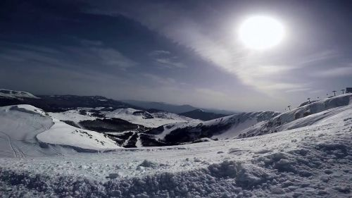 Emotions high altitude and the pleasure of skiing in HD. Roccaraso 2016. #GoPro