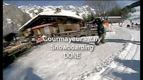 Courmayeur - Italy - Snowboarding Final Day