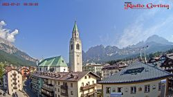 Webcam Centro da Radio Cortina