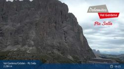 Webcam Piz Sella e Sassolungo