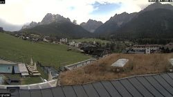 Webcam Croda Rossa panorama da Berg Hotel