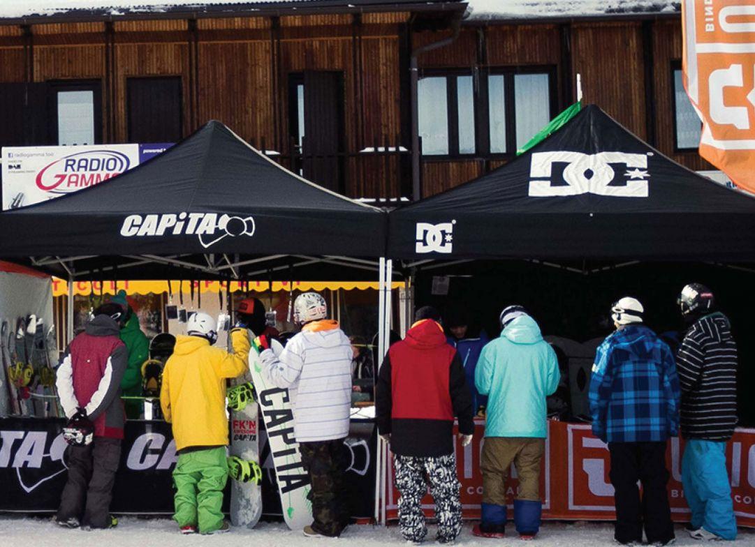Union Bindings, CAPiTA e DC Snowboards presentano il Test Tour 2015
