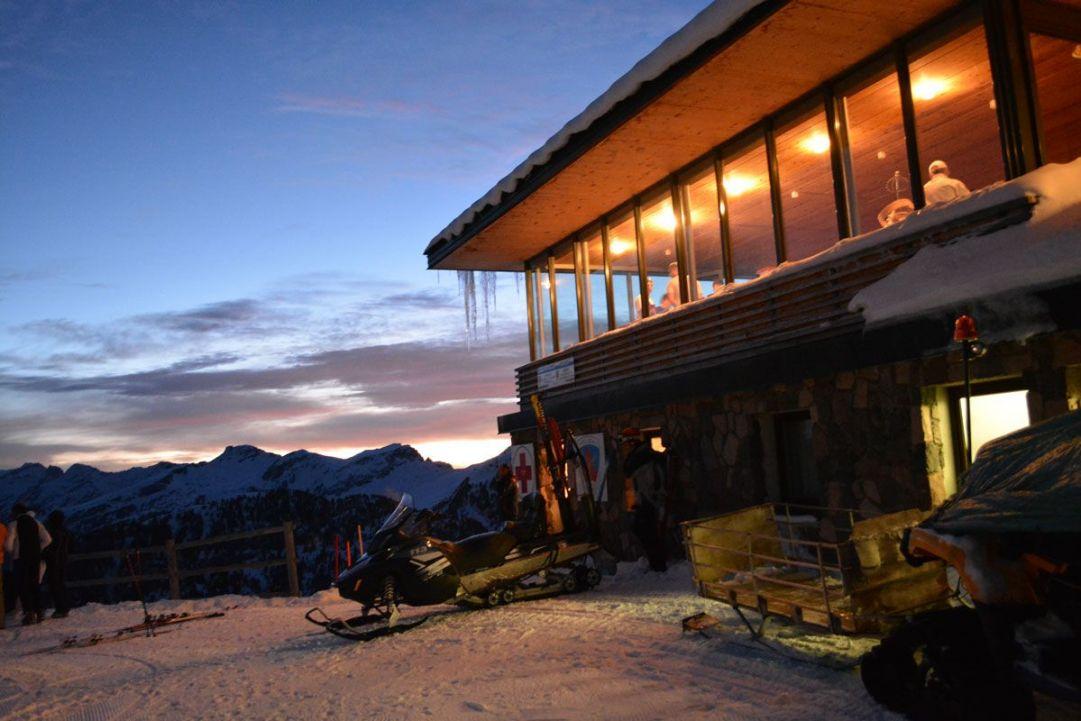 Prime luci dell'alba a Cavalese - Rifugio Paion