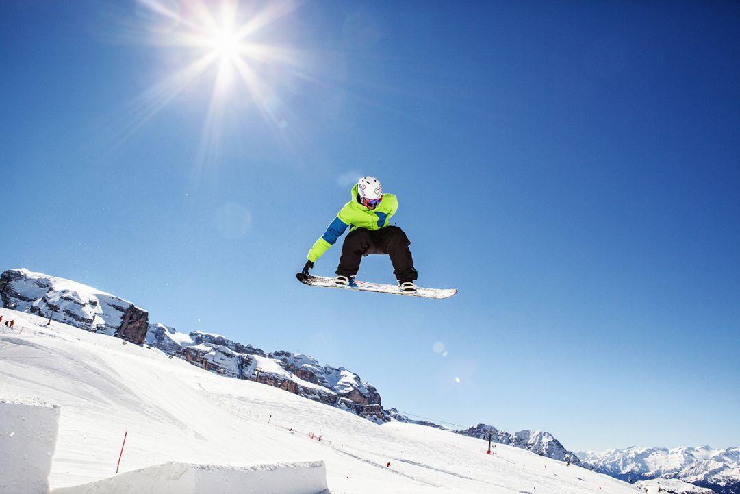 Aree Snowpark e Freestyle in crescita. Ecco cosa offre il Trentino
