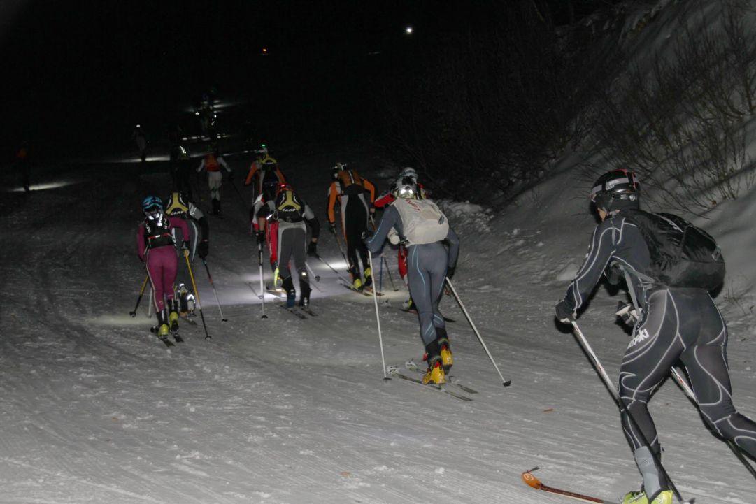 Damiano Lenzi la prima Winter Vertical Race di Limone Piemonte