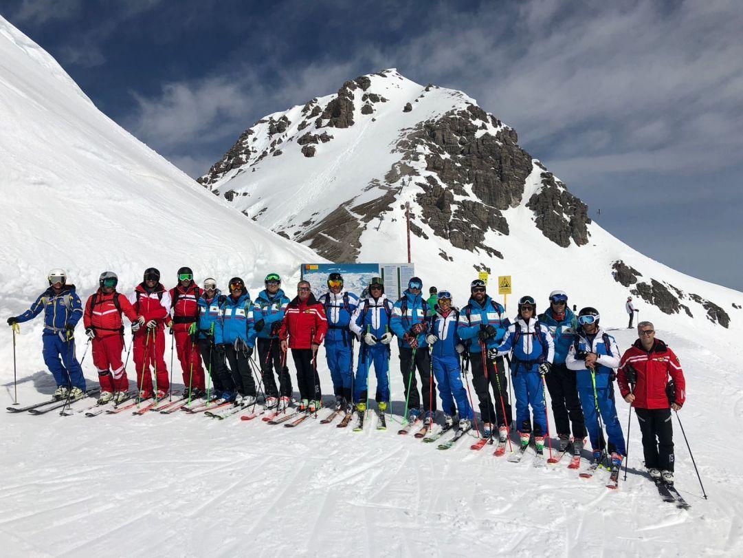 Ski Meeting 2018, il Team