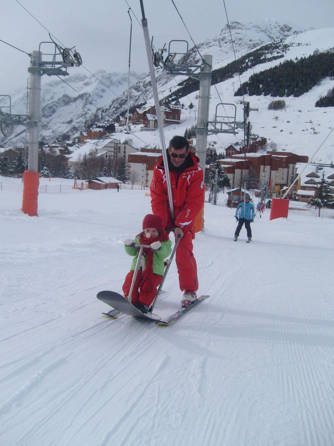 Les deux alpes baby snow