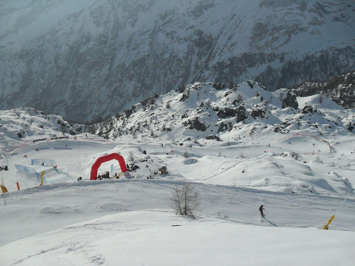 gara FIS di Snowboardcross