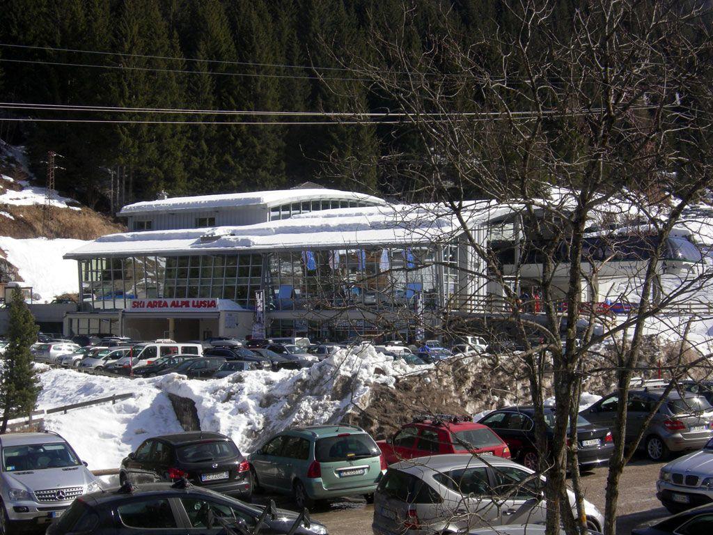 Partenza degli ovetti per l'Alpe Lusia