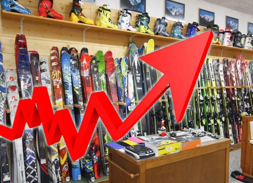 Mercato dello Sci in Italia 2014/15: cresce la vendita degli scarponi, cala la vendita degli sci