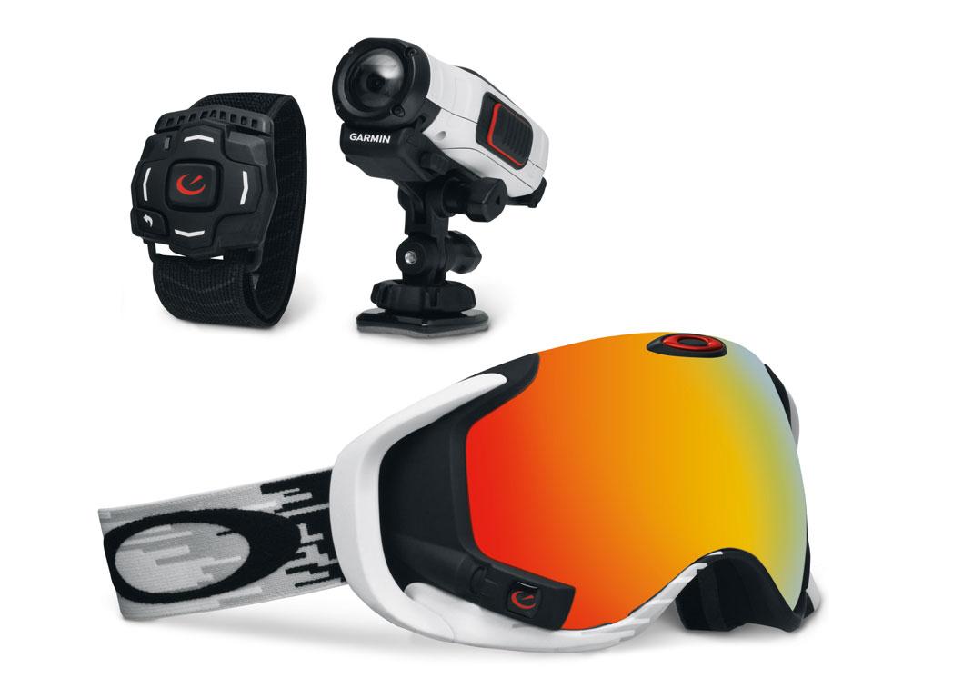 Partnership Oakley e Garmin: le Action Cam si integrano con la Maschera