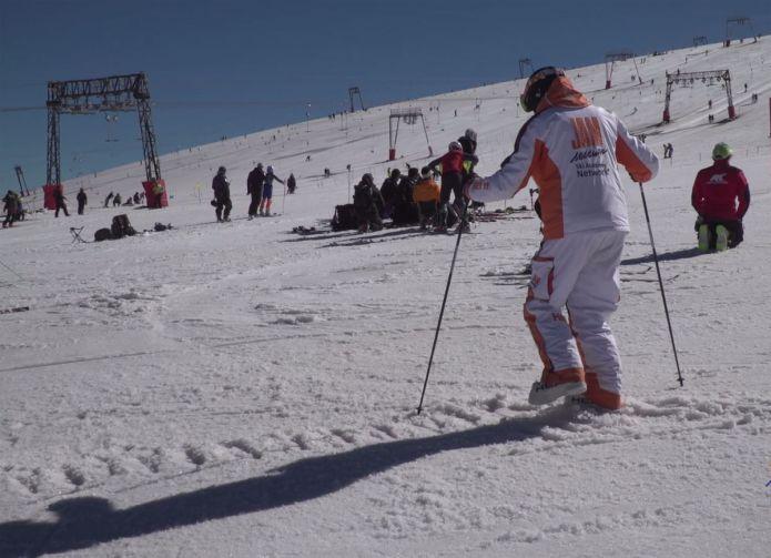 Il primo passo per imparare a sciare
