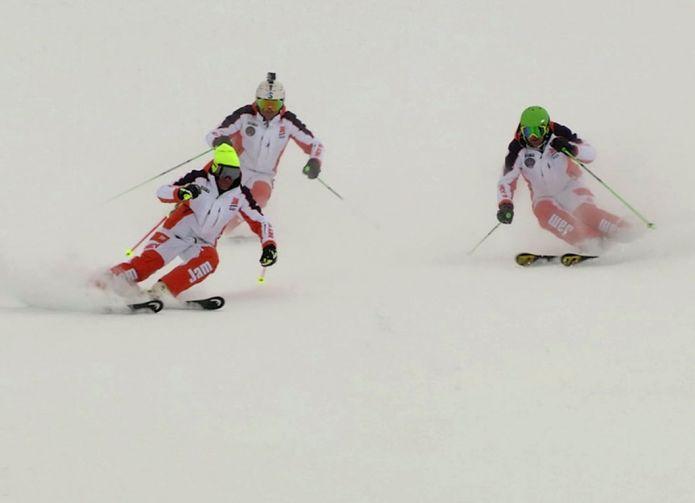 L'importanza del ritmo nella sciata in condizioni difficili