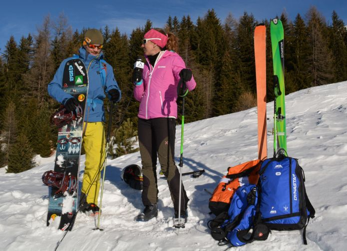 I bastoni per la pratica dello Scialpinismo e del Freeride