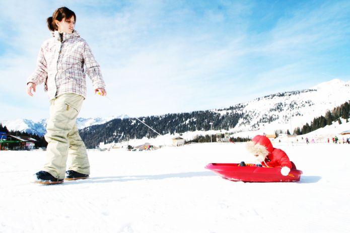 Una stazione sciistica a misura di famiglia? Skiarea Funivie Lagorai sull'Altopiano del Tesino (Trentino)